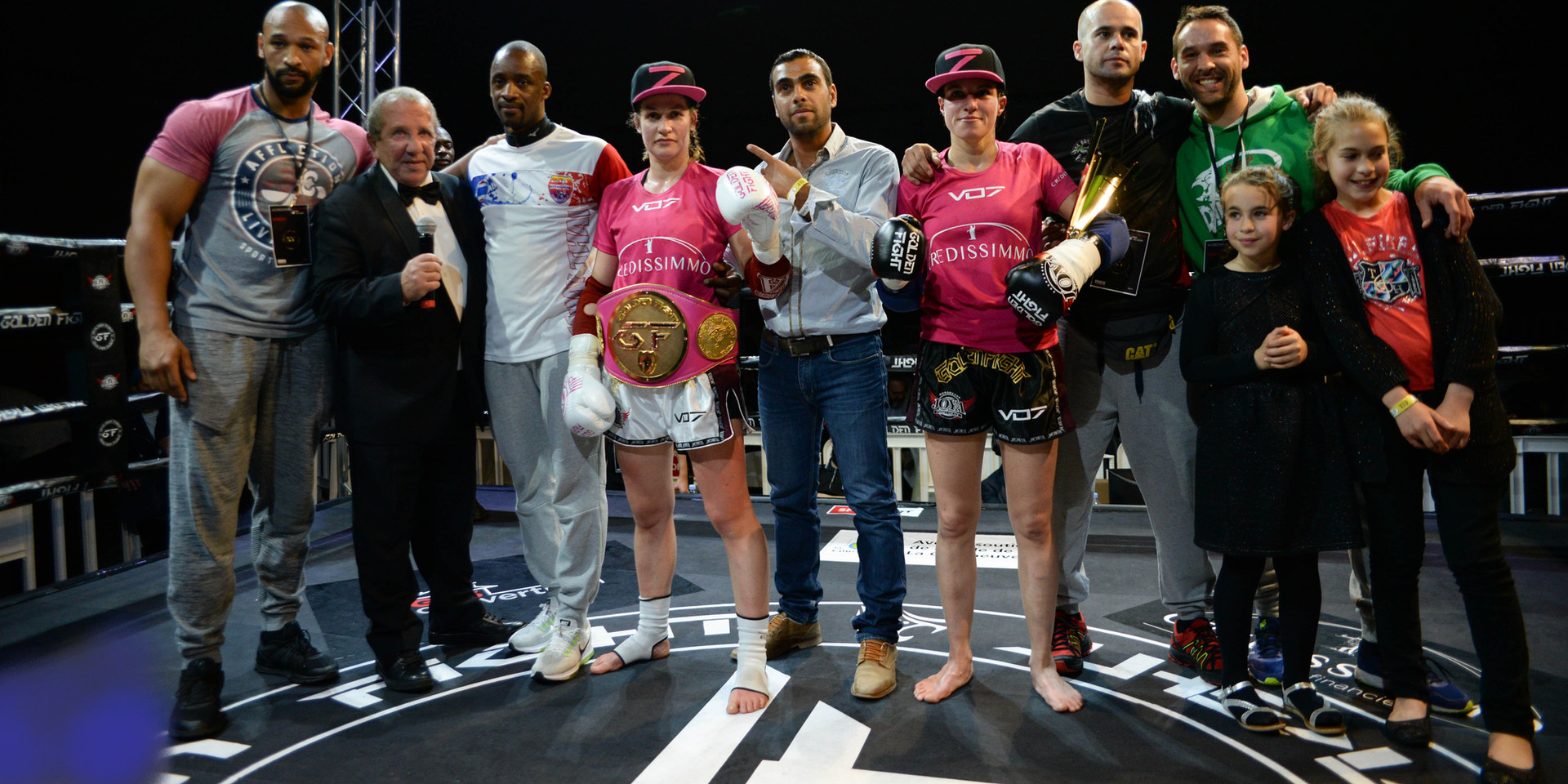 Soraya Bucherie VS Filipa Correira Finale Golden Fight