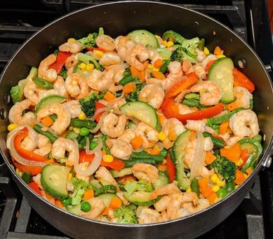 Shrimp & Veggie Stir Fry Recipe