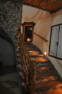 Σκάλα προς τα δωμάτια
