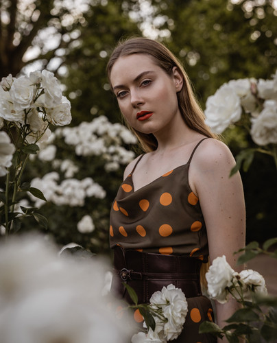 Anastasia Hnatenko Model Sedcard Portrait