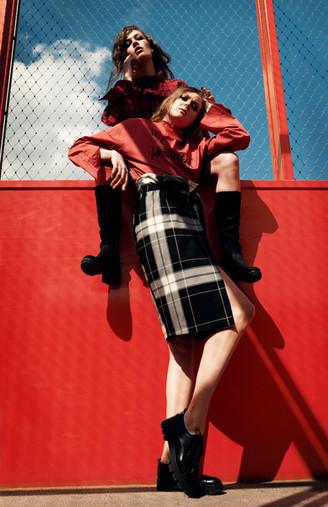 Fashion Lookbook - Madness over Mainstream von Redirection