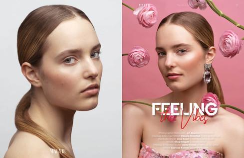 Malvie Magazine Beauty Editorial