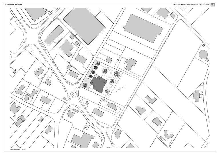 Architecture Concours pour la construction d'un EMS Charrat