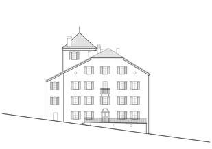 Transformation d'un bâtiment  en vieille ville