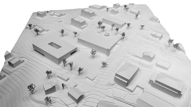 Architecture Concours pour la création d'un centre scolaireChamoson