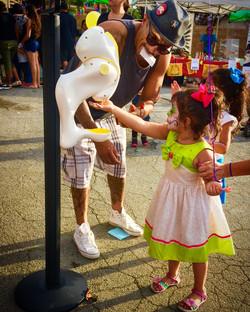 Halloween USC Sunscreen dispenser