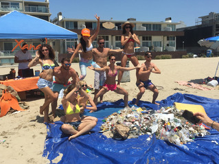 Xanadu Beach Cleanup: Santa Monica