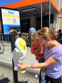 Farmers Market Sunscreen Dispenser