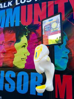 Aids-Walk-Los-Angeles-Sunscreen-Dispenser-Drew-Carey-Shark-Tank