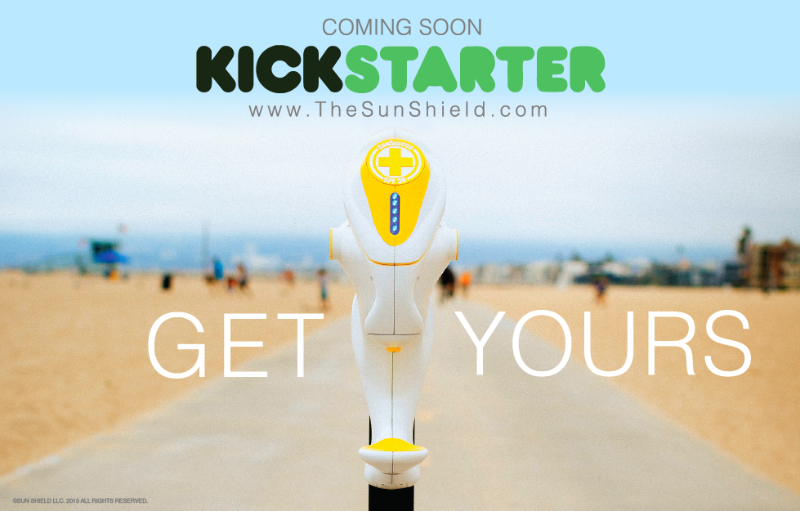 Sun Shield Beach Sunscreen dispenser