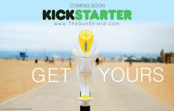 Sun Shield Beach Sunscreen dispenser