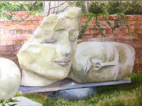 Sculptures in Himalayan Gardens wc Harve