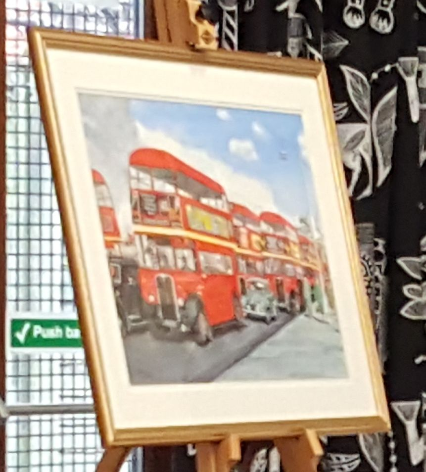 On The Buses Martyn Wallace