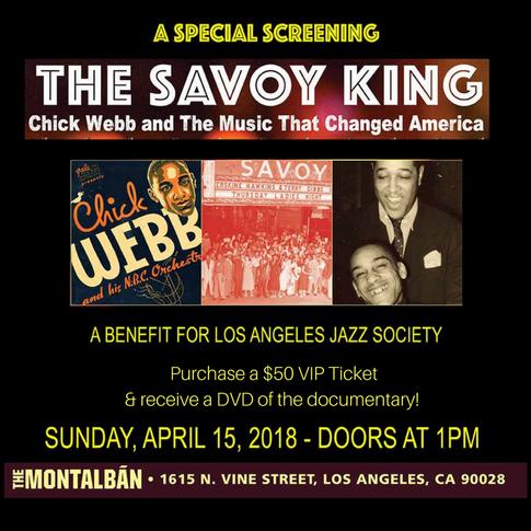 LA Screening of THE SAVOY KING- April15th, 2018