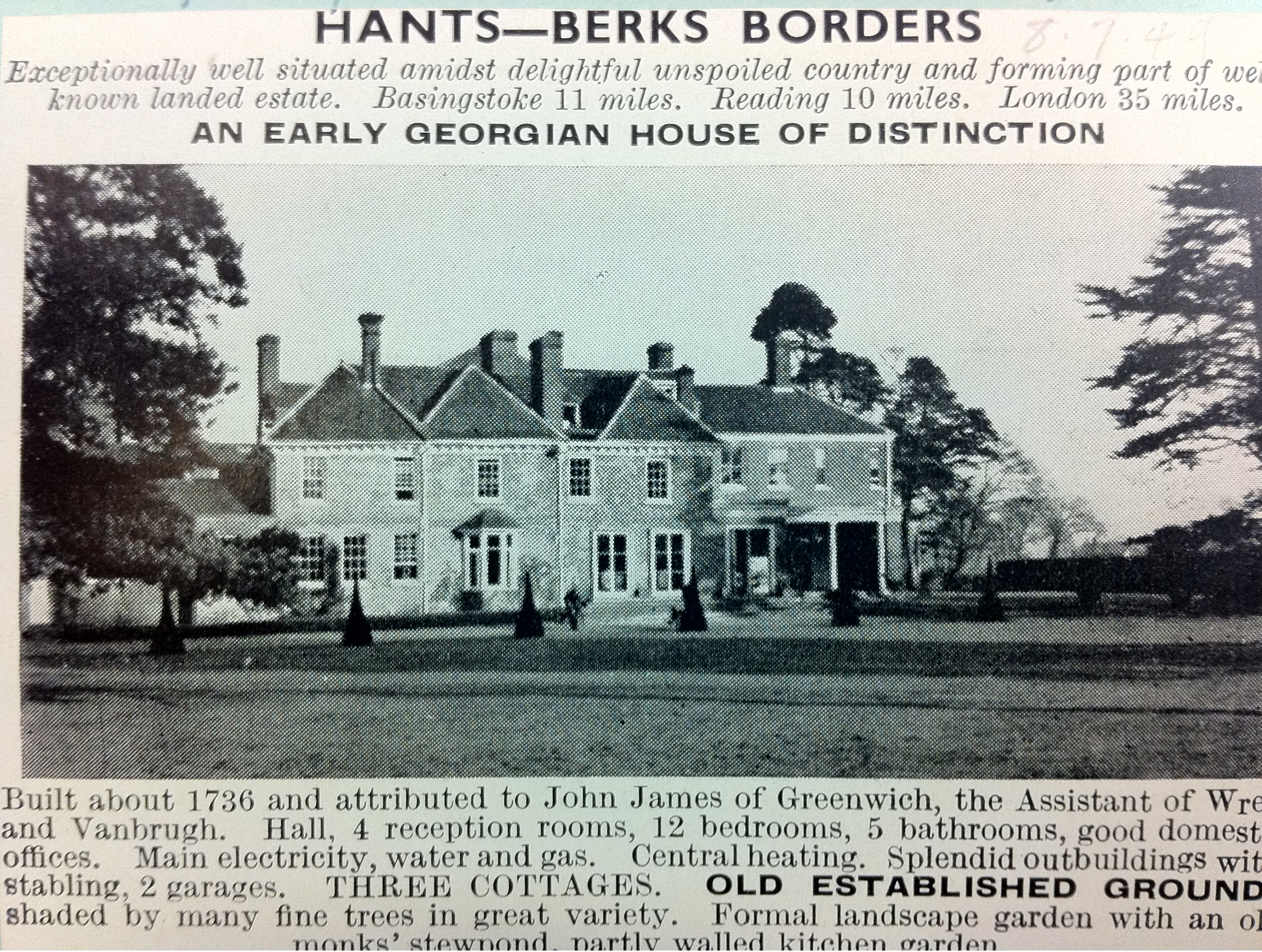 CU Hants - Berks Border advert