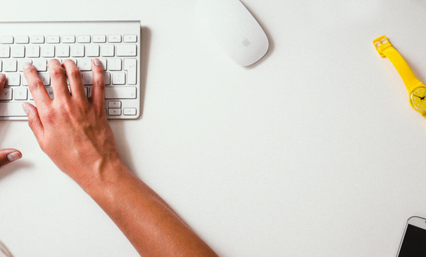 Hendene på Keyboard