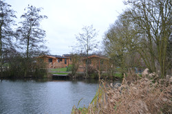 Lodges with lake view