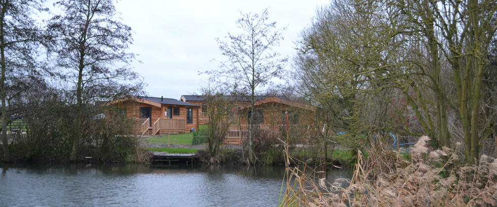 Luxury Lodges with Lake View