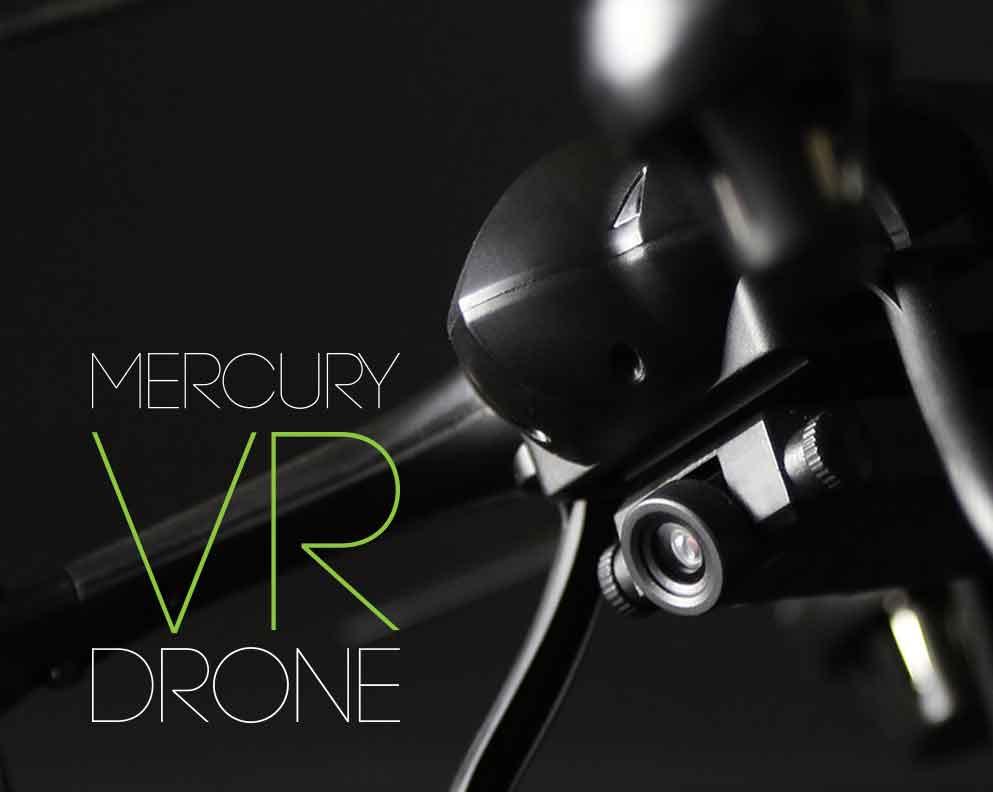 Mercury VR drone 2.0