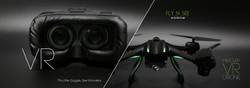 Mercury VR drone