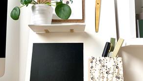 DIY #18: Organiseur de bureau