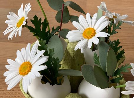 DIY #12: Pâques oeufs décorés et vases oeufs