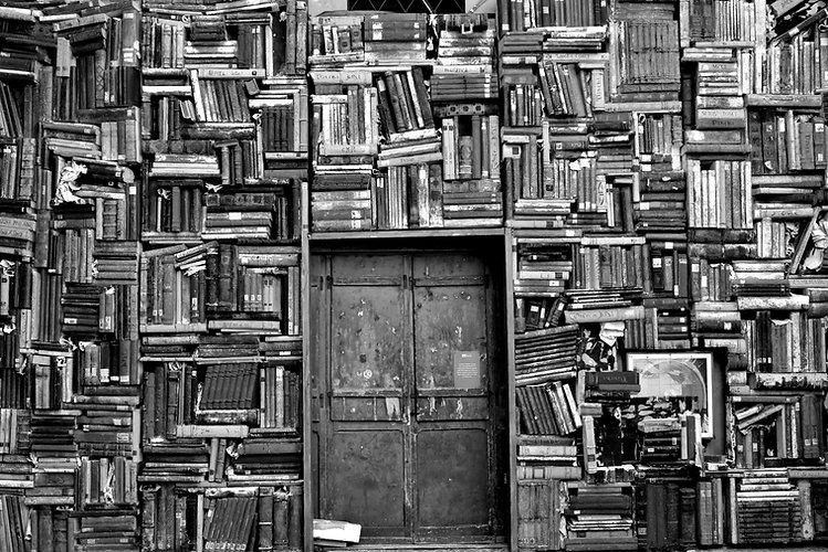 Preto e Branco Biblioteca