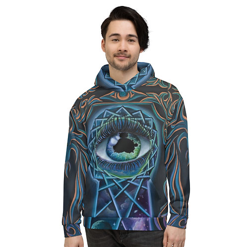 """The Eye that Sees"" Unisex Hoodie"