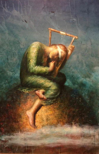 Hope ( inspired by George Frederick Watts)