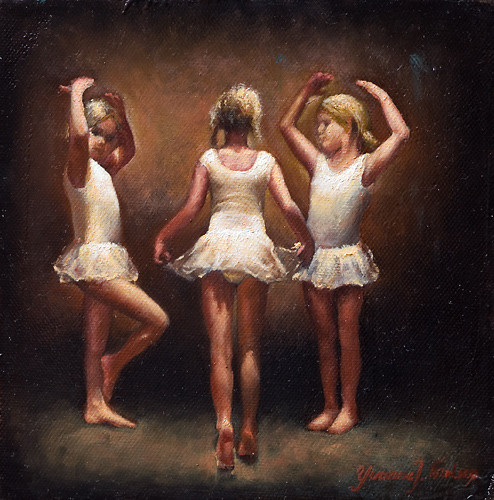 Three Small Dancers