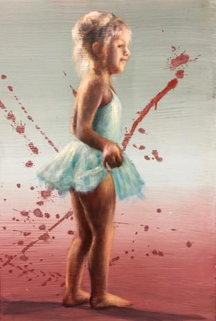 Ballerina i turkis