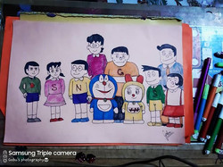 Doraemon family  #doraemon #nobitashizuk