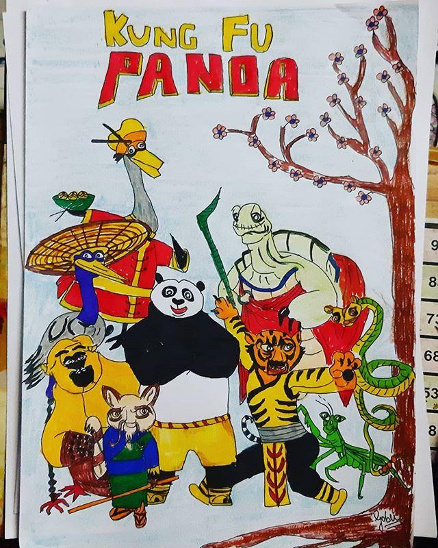 Kung Fu panda #kungfu  #panda #kungfupan