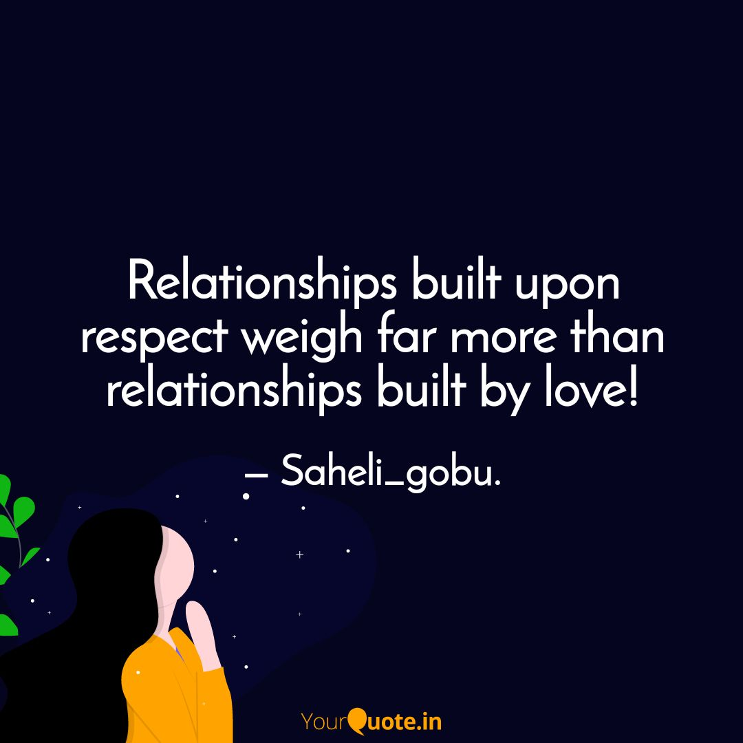 love vs respect