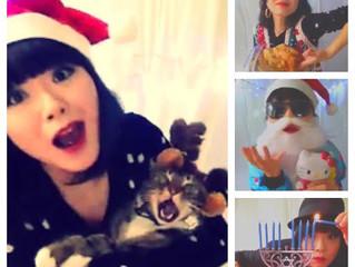Merry Meow Chrismas from NaNa & the Happy Cats!