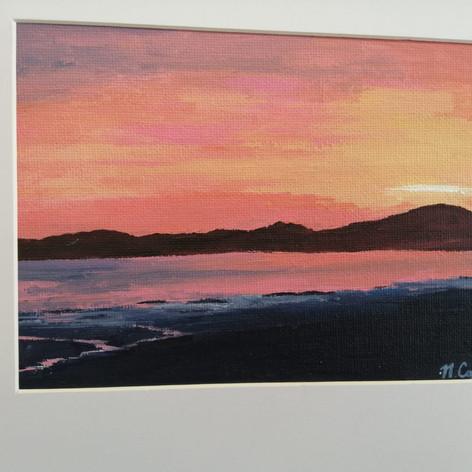 16. Luskentyre Sunset