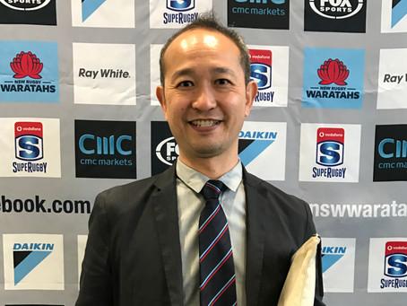 014: インタビュー1・2/W杯と日本のラグビー(H6 本田 祐嗣・組織委レガシー部長)