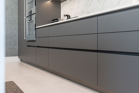 lava-grey-polar-white-handleless-kitchen