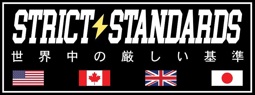 "Worldwide Flags 8x3"" Box-Slap Sticker Digital"