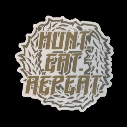 HUNT.EAT. REPEAT STICKER