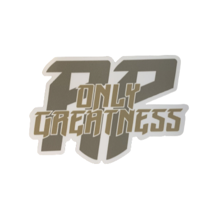 ONLY GREATNESS STICKER