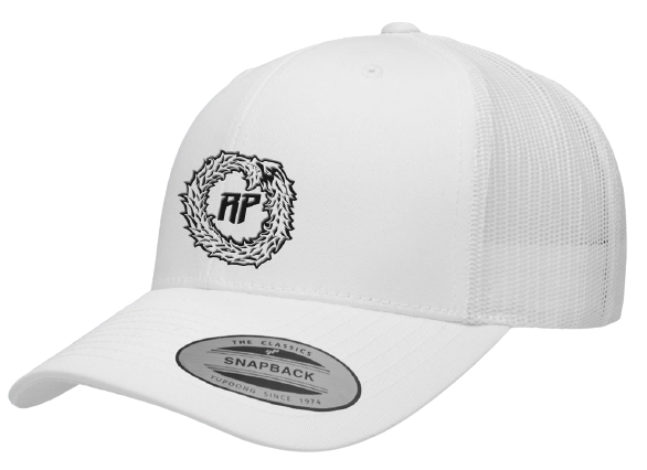 WHITE LOGO HAT