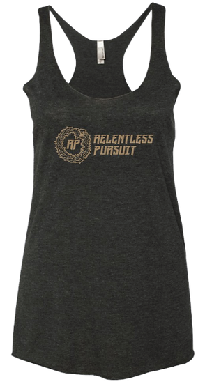 BLACK WOMENS RACERBACK TANK