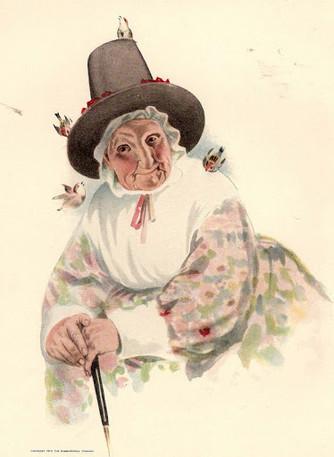 ««Поселилась на опушке… Очень вредная старушка»