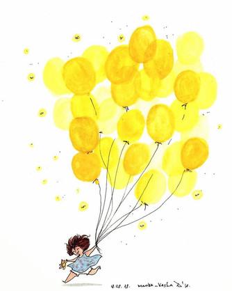 Жёлтый шарик