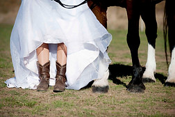 Wedding shoes with a difference