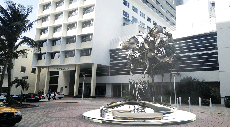 Miami Ritz Sculpture 1.0