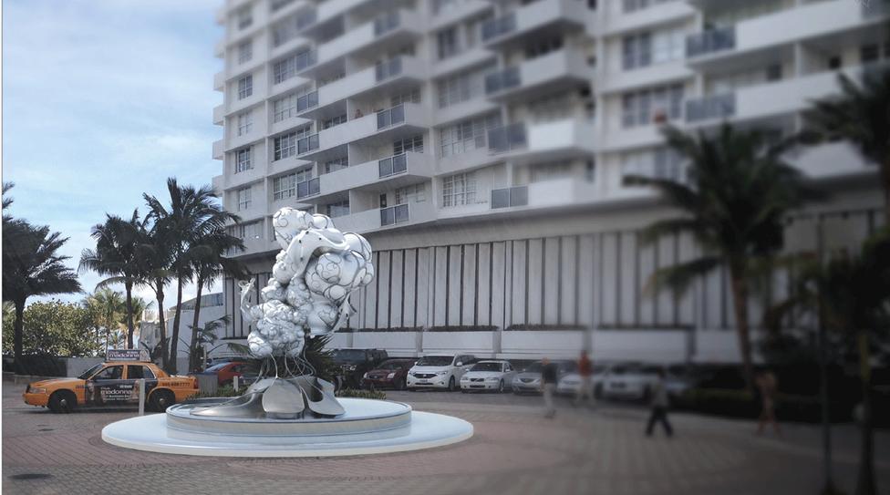 Miami Ritz Sculpture 2.0