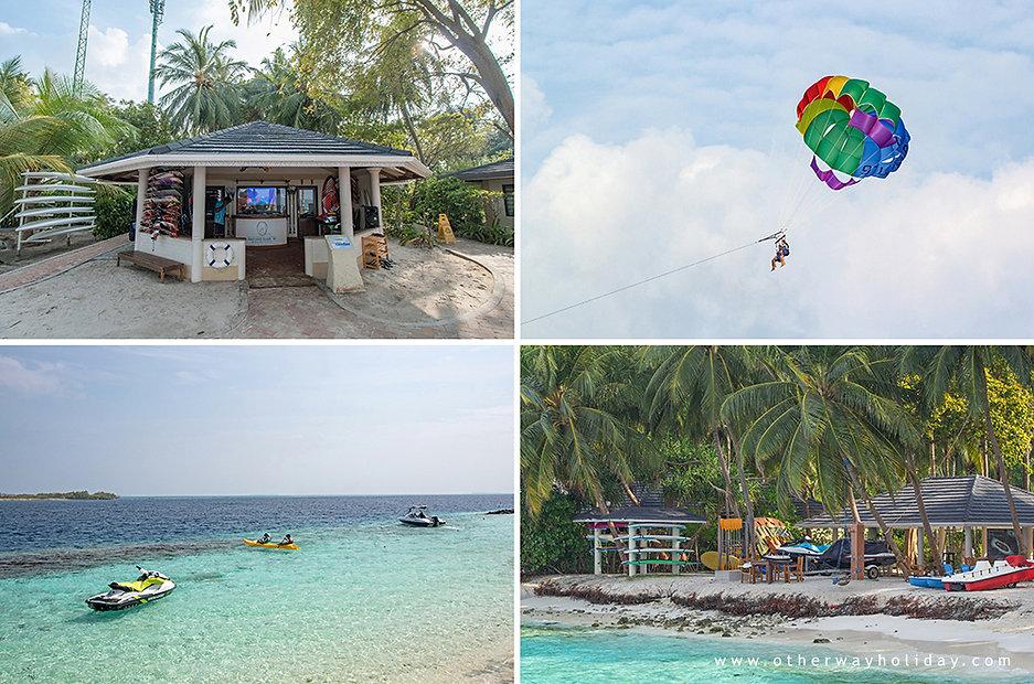 Royal Island Resort & Spa, vodní sporty, water sports