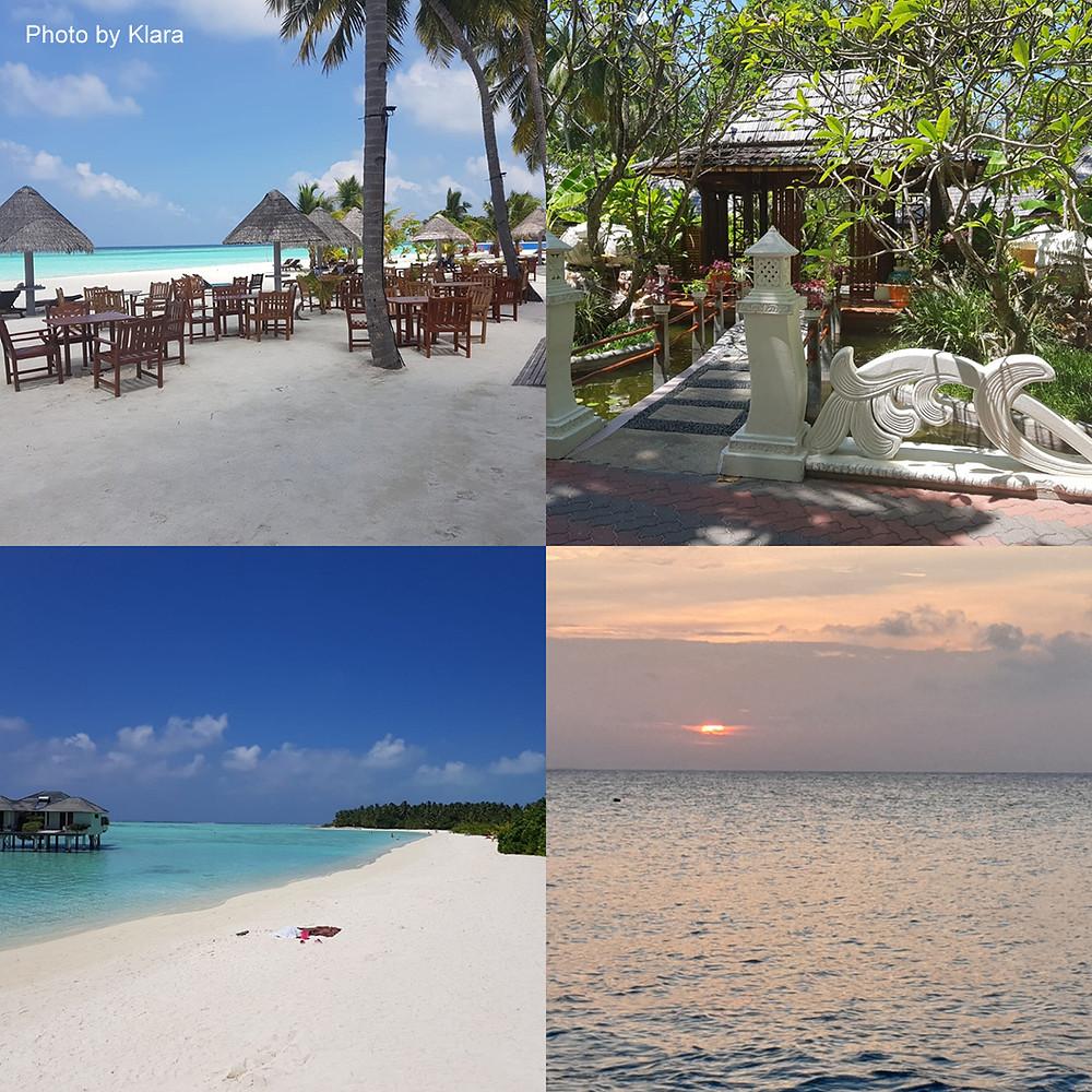Sun Island Resort & Spa na Alif Dhaal atolu. Maledivy.